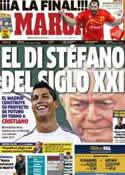 Portada diario Marca del 26 de Enero de 2013