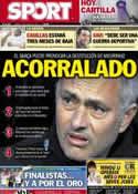 Portada diario Sport del 26 de Enero de 2013