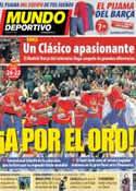 Portada Mundo Deportivo del 26 de Enero de 2013