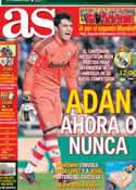 Portada diario AS del 27 de Enero de 2013