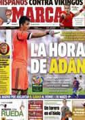 Portada diario Marca del 27 de Enero de 2013
