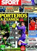 Portada diario Sport del 27 de Enero de 2013