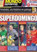 Portada Mundo Deportivo del 27 de Enero de 2013