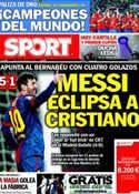 Portada diario Sport del 28 de Enero de 2013