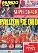 Portada Mundo Deportivo del 28 de Enero de 2013