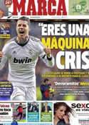 Portada diario Marca del 29 de Enero de 2013