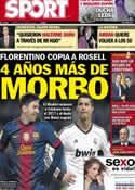 Portada diario Sport del 29 de Enero de 2013