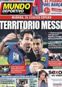 Portada Mundo Deportivo del 29 de Enero de 2013