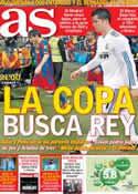 Portada diario AS del 30 de Enero de 2013