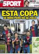 Portada diario Sport del 30 de Enero de 2013