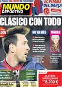 Portada Mundo Deportivo del 30 de Enero de 2013
