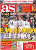 Portada diario AS del 31 de Enero de 2013