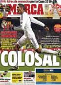 Portada diario Marca del 31 de Enero de 2013