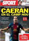Portada diario Sport del 31 de Enero de 2013
