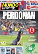 Portada Mundo Deportivo del 31 de Enero de 2013
