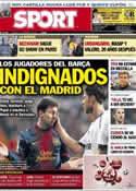 Portada diario Sport del 1 de Febrero de 2013