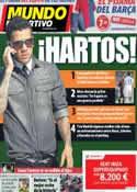 Portada Mundo Deportivo del 1 de Febrero de 2013