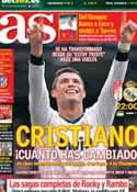 Portada diario AS del 2 de Febrero de 2013