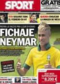 Portada diario Sport del 2 de Febrero de 2013