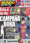 Portada Mundo Deportivo del 2 de Febrero de 2013