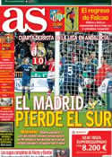 Portada diario AS del 3 de Febrero de 2013