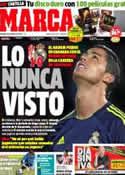 Portada diario Marca del 3 de Febrero de 2013