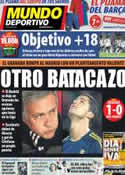 Portada Mundo Deportivo del 3 de Febrero de 2013