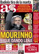 Portada diario AS del 4 de Febrero de 2013