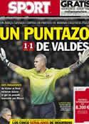 Portada diario Sport del 4 de Febrero de 2013