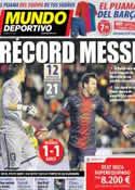 Portada Mundo Deportivo del 4 de Febrero de 2013