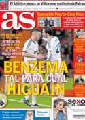 Portada diario AS del 5 de Febrero de 2013