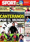 Portada diario Sport del 5 de Febrero de 2013