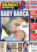 Portada Mundo Deportivo del 5 de Febrero de 2013