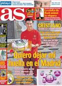 Portada diario AS del 6 de Febrero de 2013
