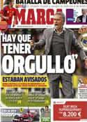 Portada diario Marca del 6 de Febrero de 2013