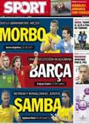 Portada diario Sport del 6 de Febrero de 2013