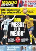 Portada Mundo Deportivo del 6 de Febrero de 2013