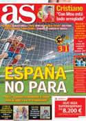 Portada diario AS del 7 de Febrero de 2013