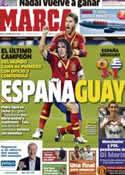 Portada diario Marca del 7 de Febrero de 2013
