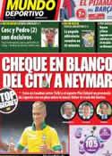 Portada Mundo Deportivo del 7 de Febrero de 2013