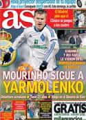 Portada diario AS del 8 de Febrero de 2013