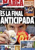 Portada diario Marca del 8 de Febrero de 2013