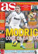 Portada diario AS del 9 de Febrero de 2013