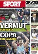 Portada diario Sport del 10 de Febrero de 2013