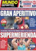 Portada Mundo Deportivo del 10 de Febrero de 2013