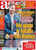 Portada diario AS del 11 de Febrero de 2013