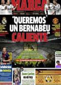 Portada diario Marca del 11 de Febrero de 2013