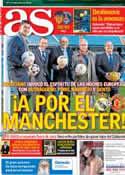Portada diario AS del 12 de Febrero de 2013
