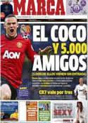 Portada diario Marca del 12 de Febrero de 2013
