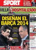 Portada diario Sport del 12 de Febrero de 2013
